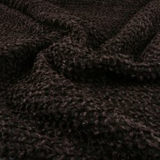 Black Polyester Boucle fabric