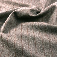 Gray Wool Suiting fabric