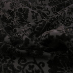 Black Velvet Polyester fabric