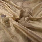 Champagne and Light Beige Silk Charmeuse fabric