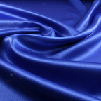 Royal Blue Satin Crepe Back Satin fabric