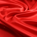 Scarlet Satin Crepe Back Satin fabric