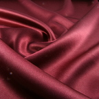 Burgundy Satin Crepe Back Satin fabric
