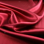 Wine Satin Crepe Back Satin fabric