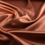 Copper Satin Crepe Back Satin fabric