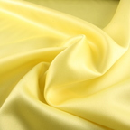 Lemon Yellow Satin Peau De Soie fabric