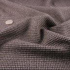Gray and Black Wool Suiting fabric
