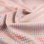 Multi-colored Silk Suiting fabric