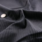 Midnight Blue Cotton Corduroy fabric