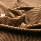 Coffee Cotton Corduroy fabric