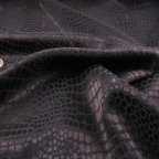 Navy Blue Polyester Jacquard fabric