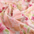 Multi-colored Cotton Voile fabric
