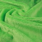 Lime Green Polyester Faux-fur fabric